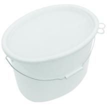 Műanyag savanyúságos vödör (ovális,18 L)