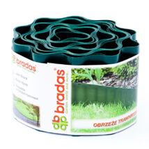 Bradas műanyag ágyásszegély (900x15)