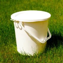 Műanyag savanyúságos vödör (fedeles, 20 L)