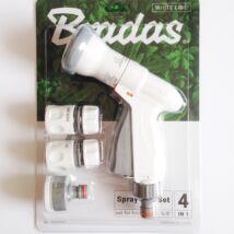 Bradas White Line Super Spray locsolópisztoly szett (WL-EN8TSET)