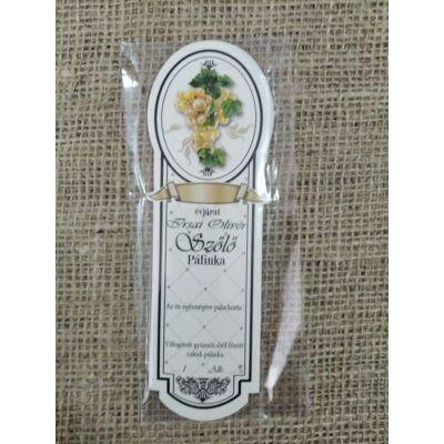 Pálinka címke ( Irsai olivér keskeny )